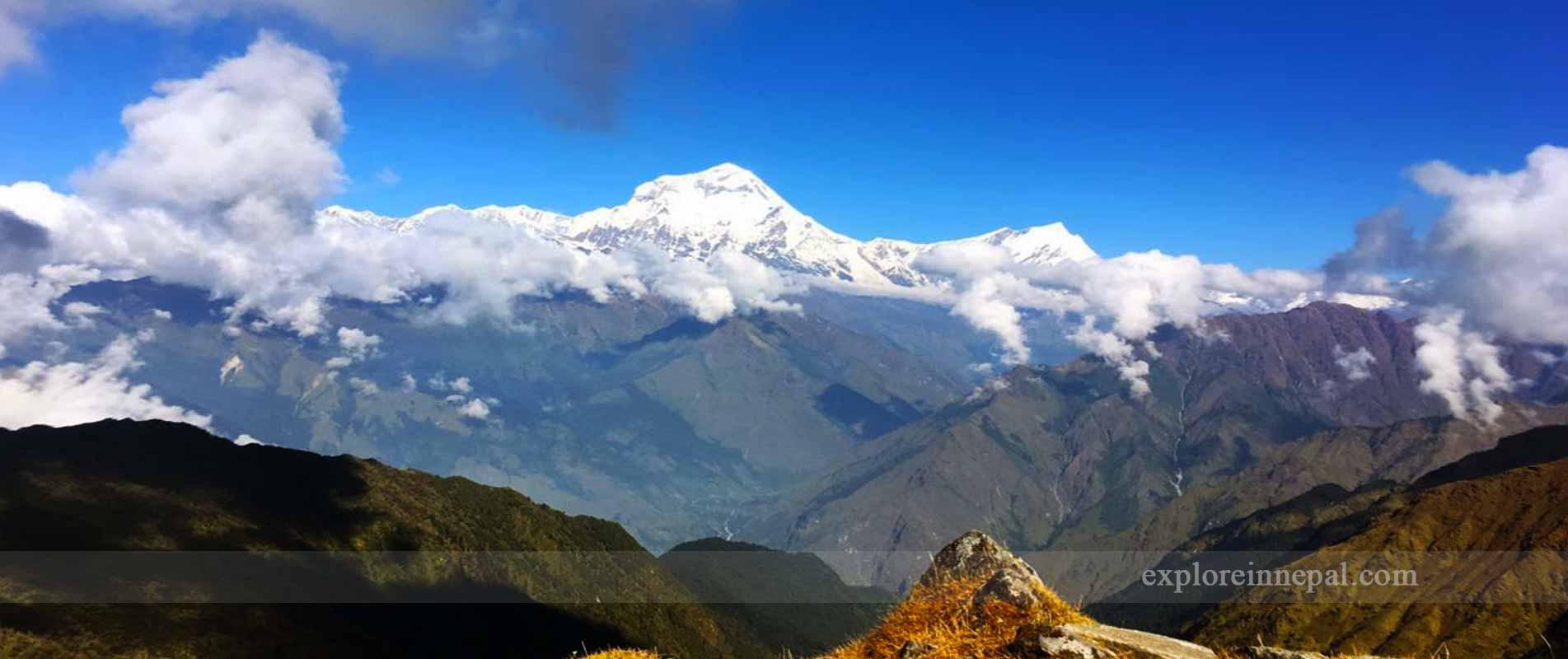Annapurna &dhaulagiri-view