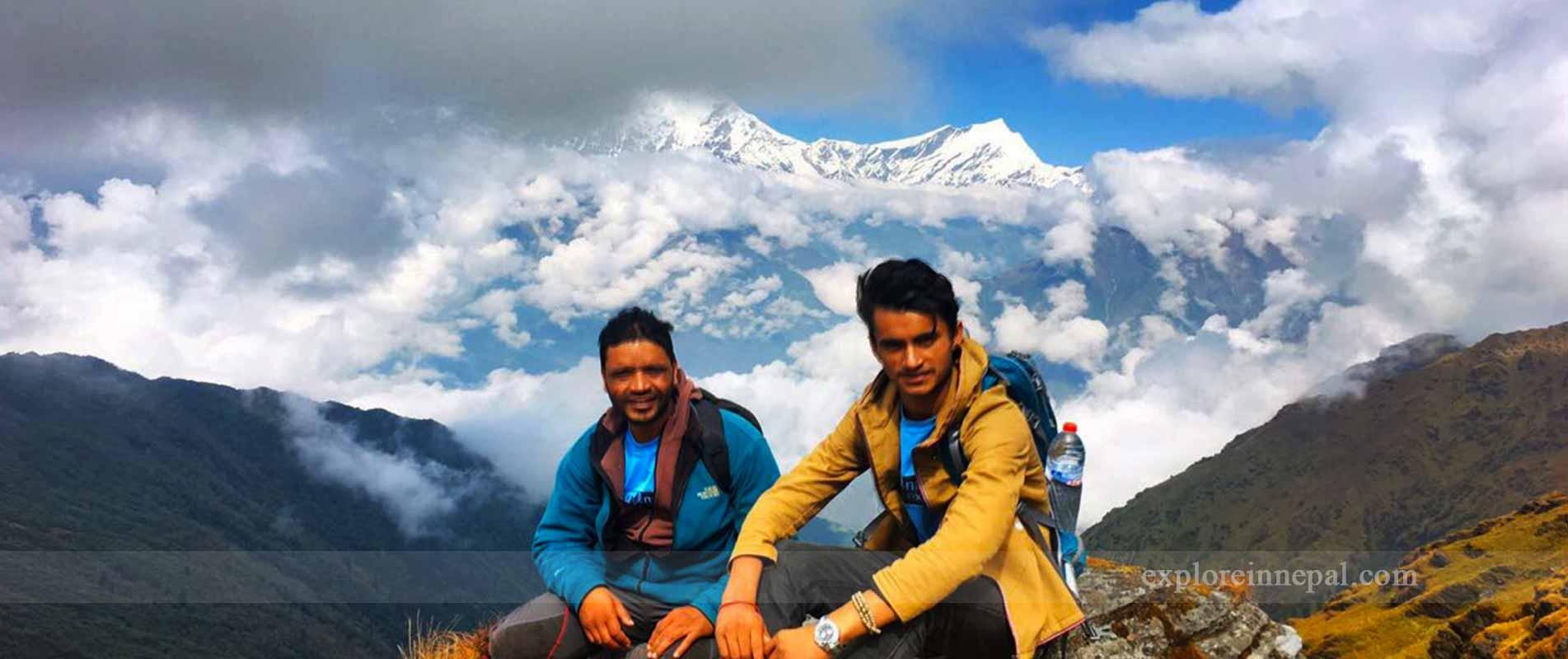 Annapurna &dhaulagiri